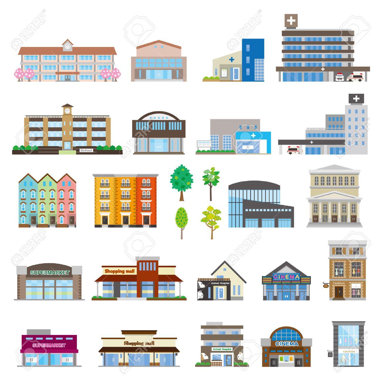 Various building - 51363026