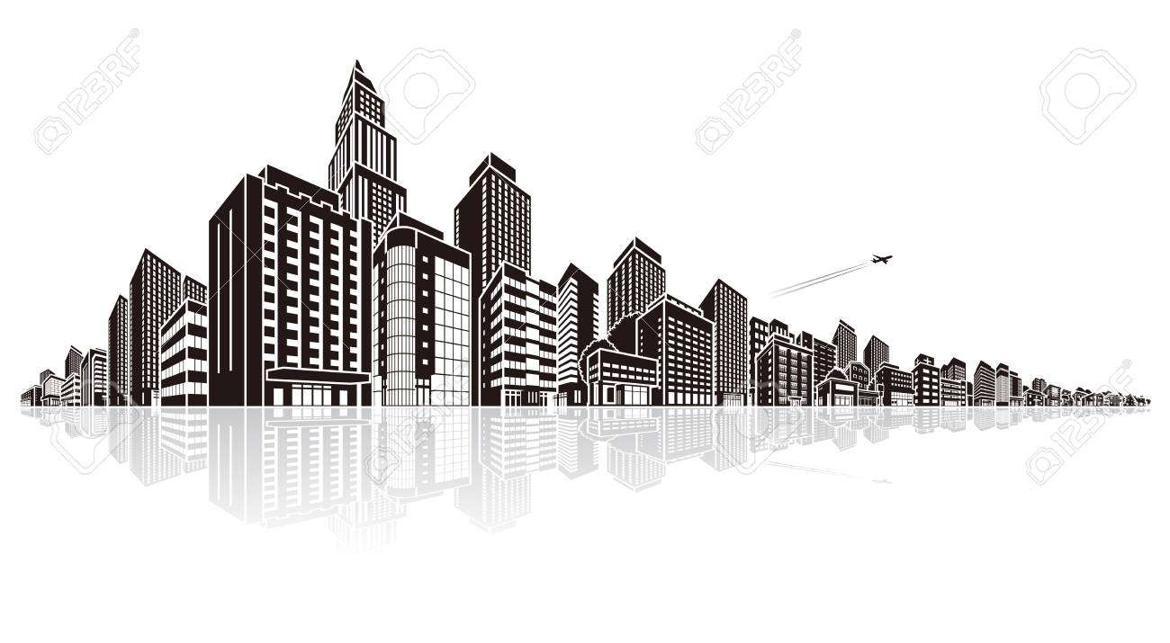 cityscape vector illustration royalty free cliparts vectors and rh 123rf com free vector cityscape cityscape vector graphic