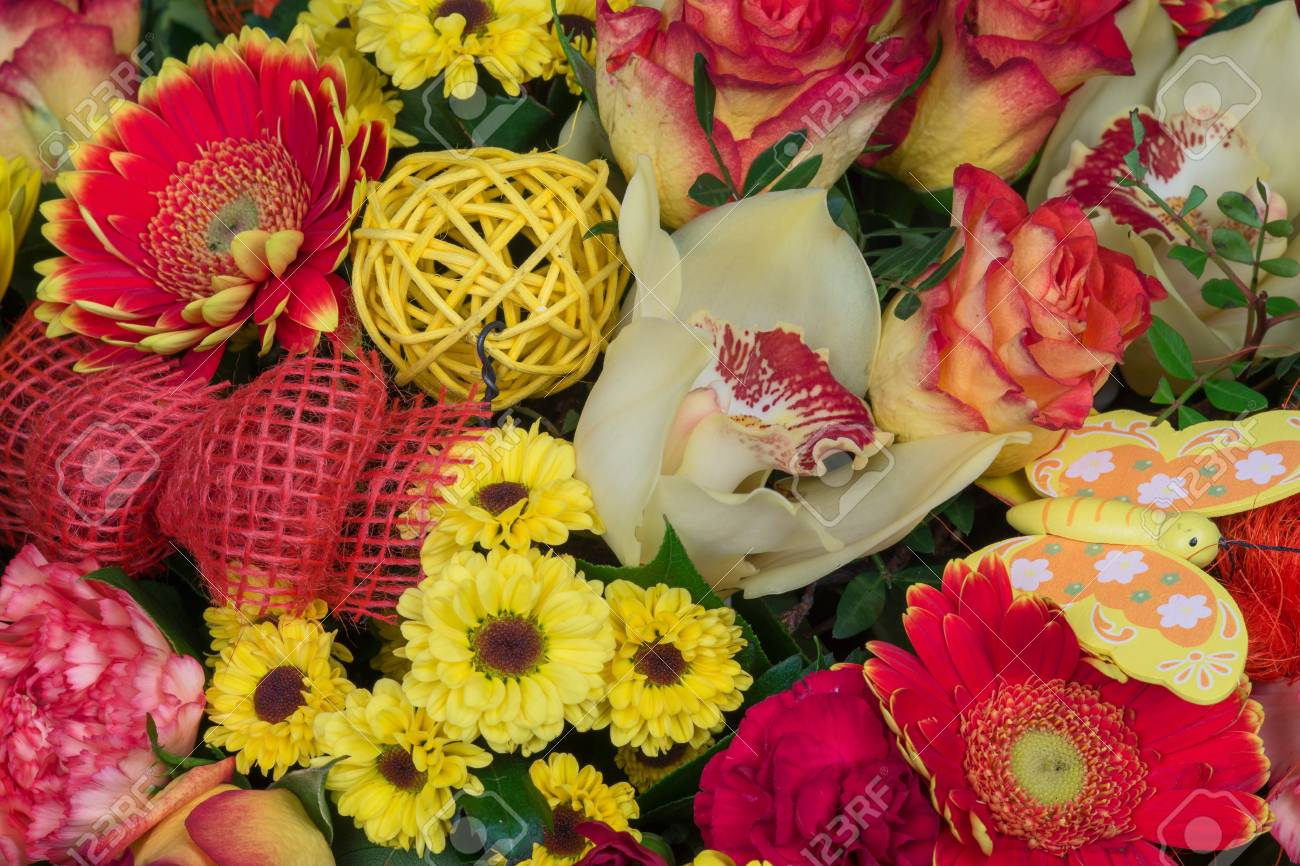 Bunch of colorful flowers flower bouquets stock photo picture and bunch of colorful flowers flower bouquets stock photo 52415612 izmirmasajfo