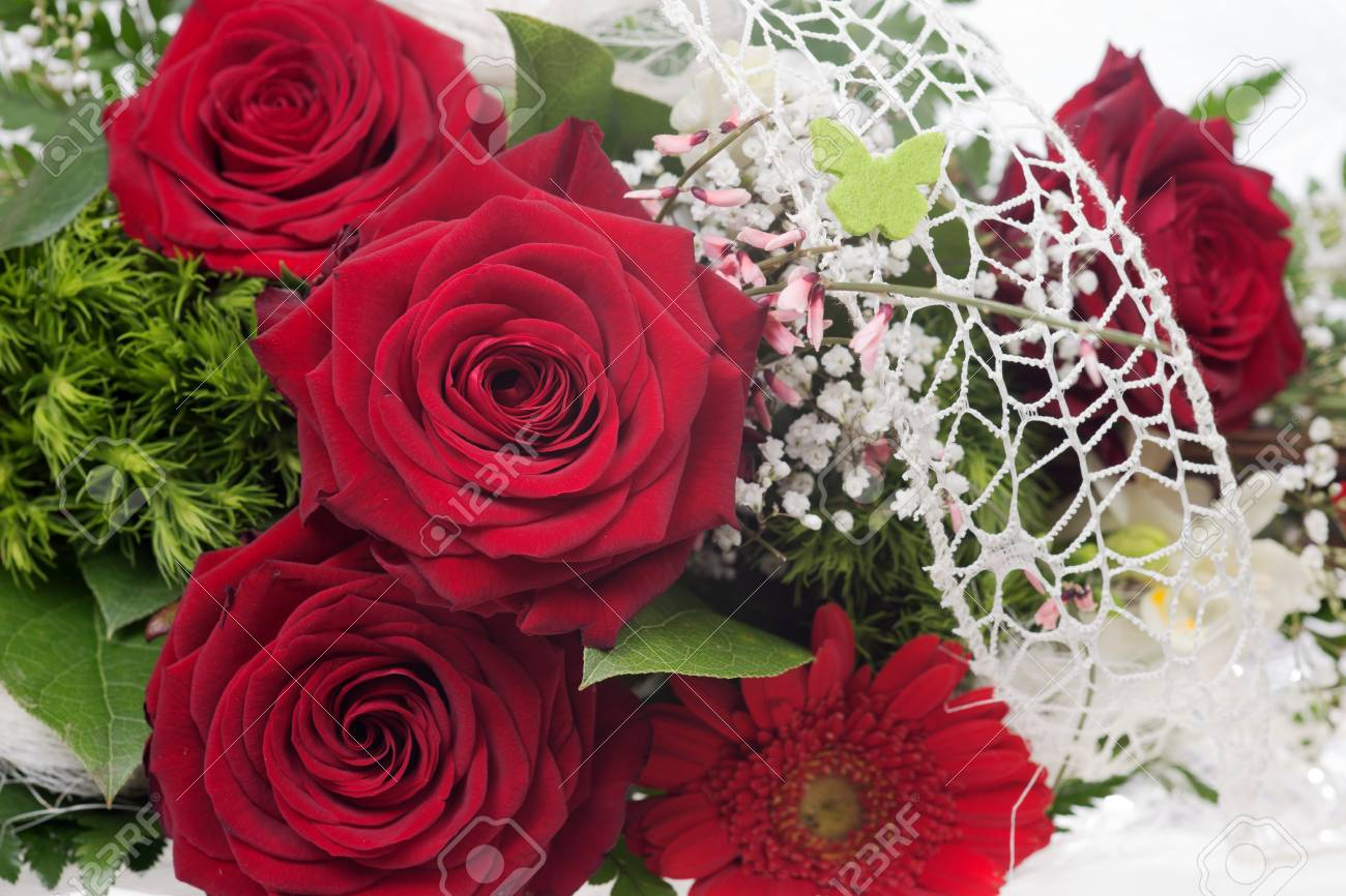 Very beautiful bouquet with red roses stock photo picture and stock photo very beautiful bouquet with red roses izmirmasajfo