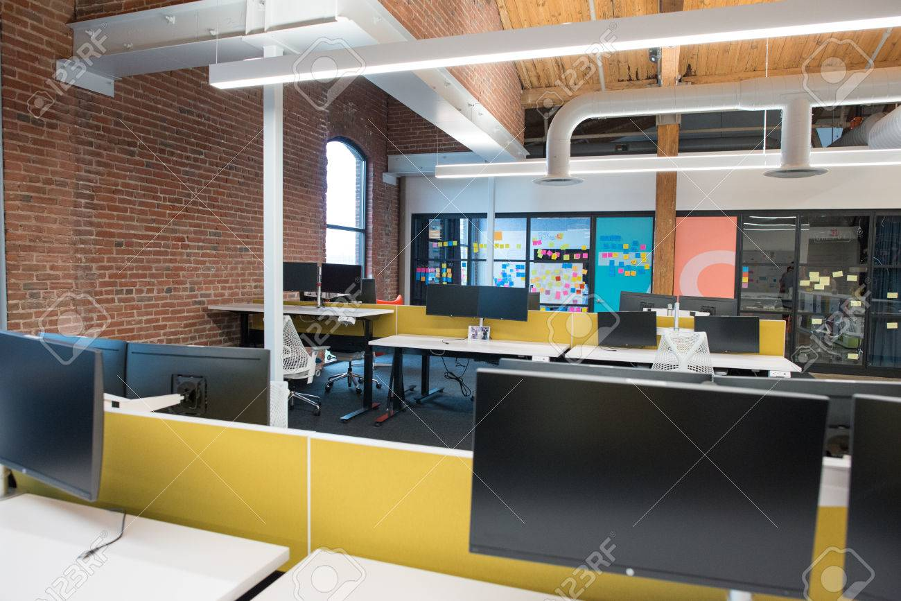 loft office space open concept stock photo trendy modern open concept loft office space with big windows natural light and layout to encourage collaboration creativity modern open concept loft office space with big windows