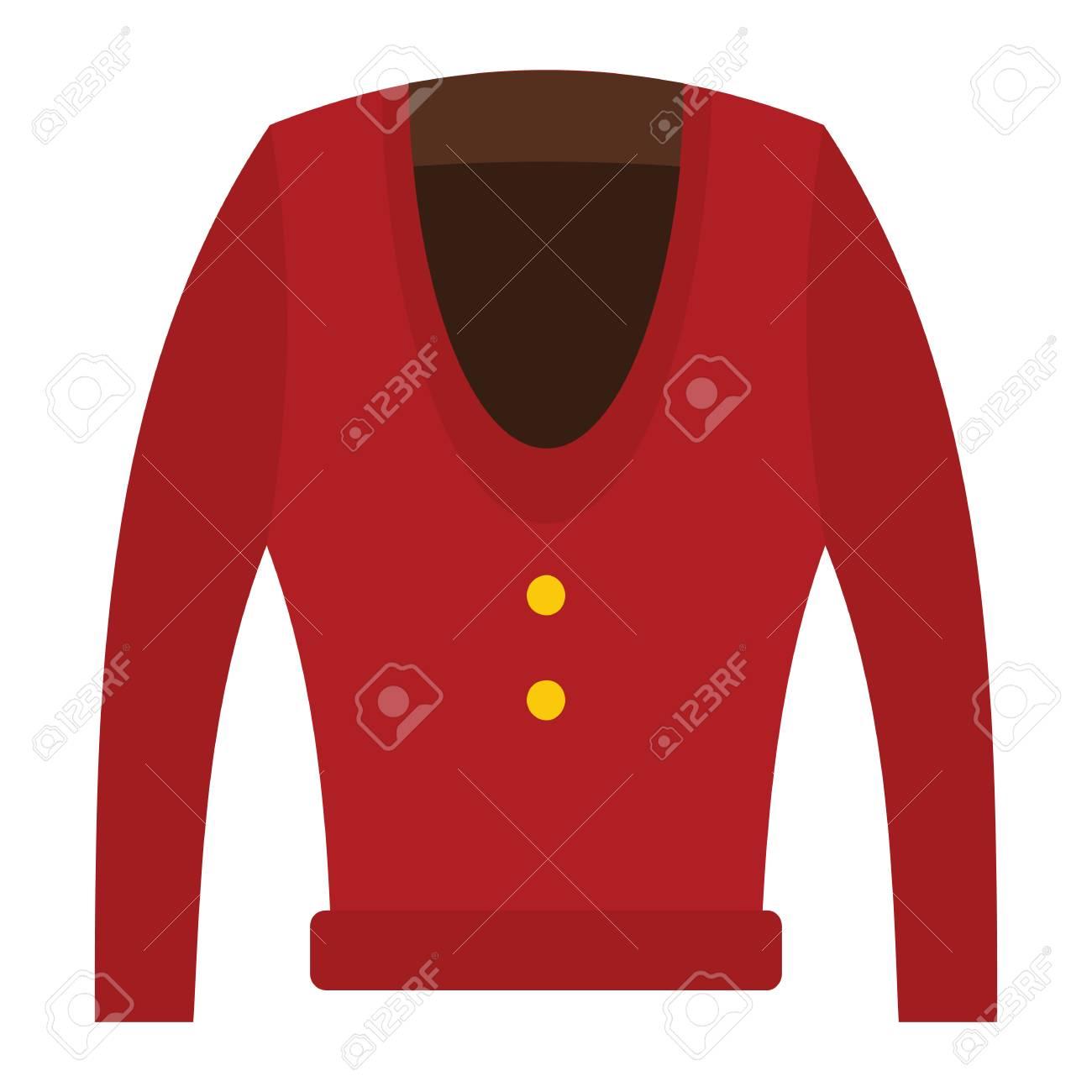 Mode Rouge Moderne Icône Plate Pour De L'homme Vêtements Cardigan vFxw4t5q