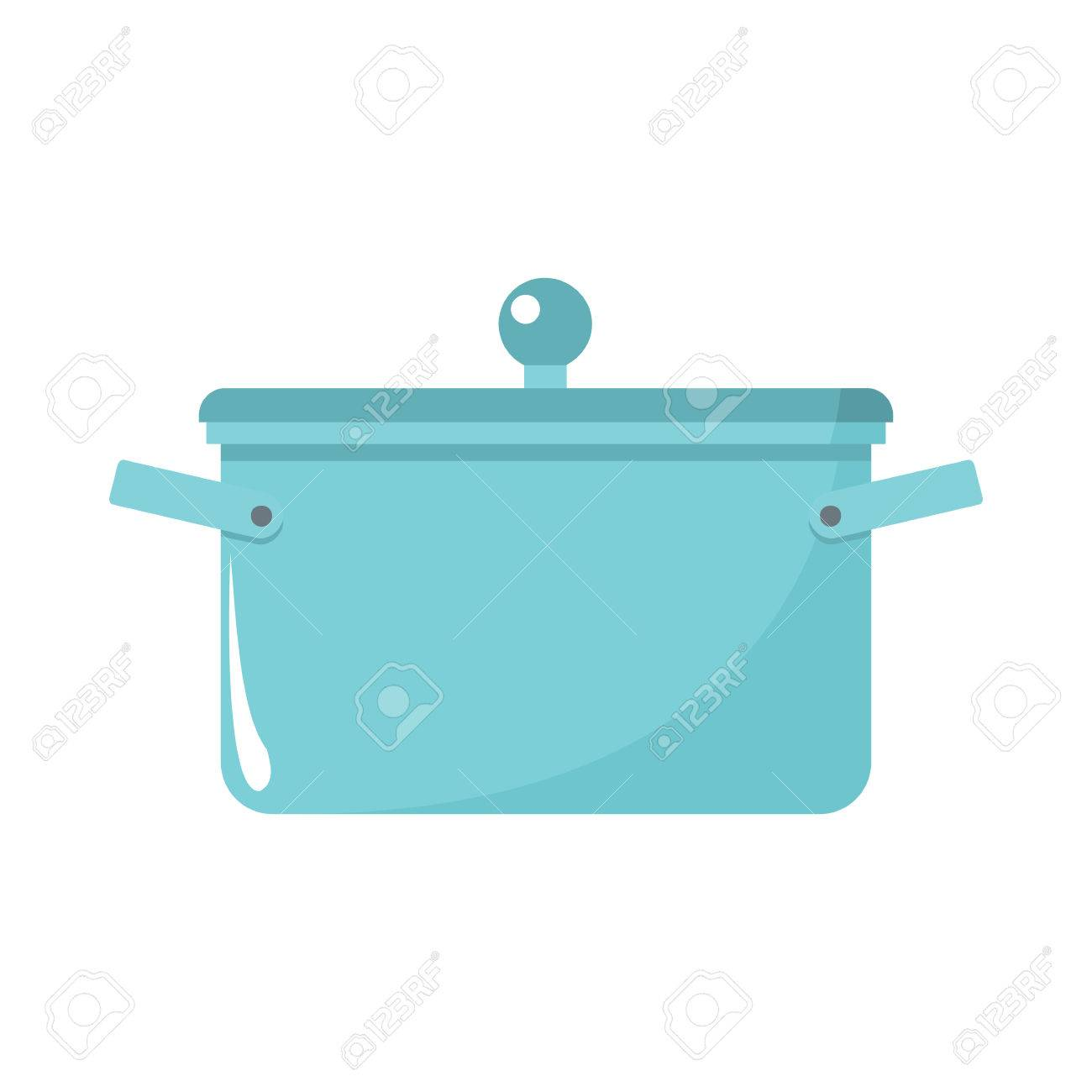 Saucepan Cartoon Icon. Kitchen Tools, Cookware And Kitchenware Illustration  For You Kitchen Design Stock