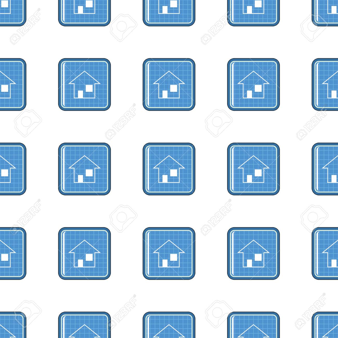 Blueprint seamless pattern in cartoon style isolated on white blueprint seamless pattern in cartoon style isolated on white background vector illustration for web foto de malvernweather Gallery
