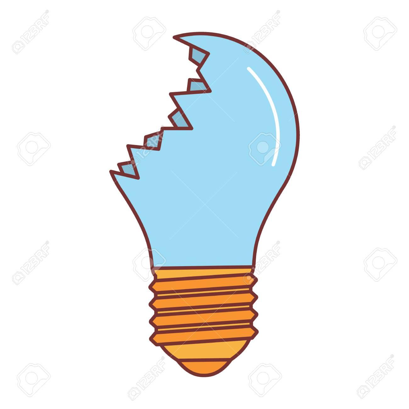 broken lamp icon cartoon illustration of broken lamp vector rh 123rf com lamp vector ai lamp vector icon