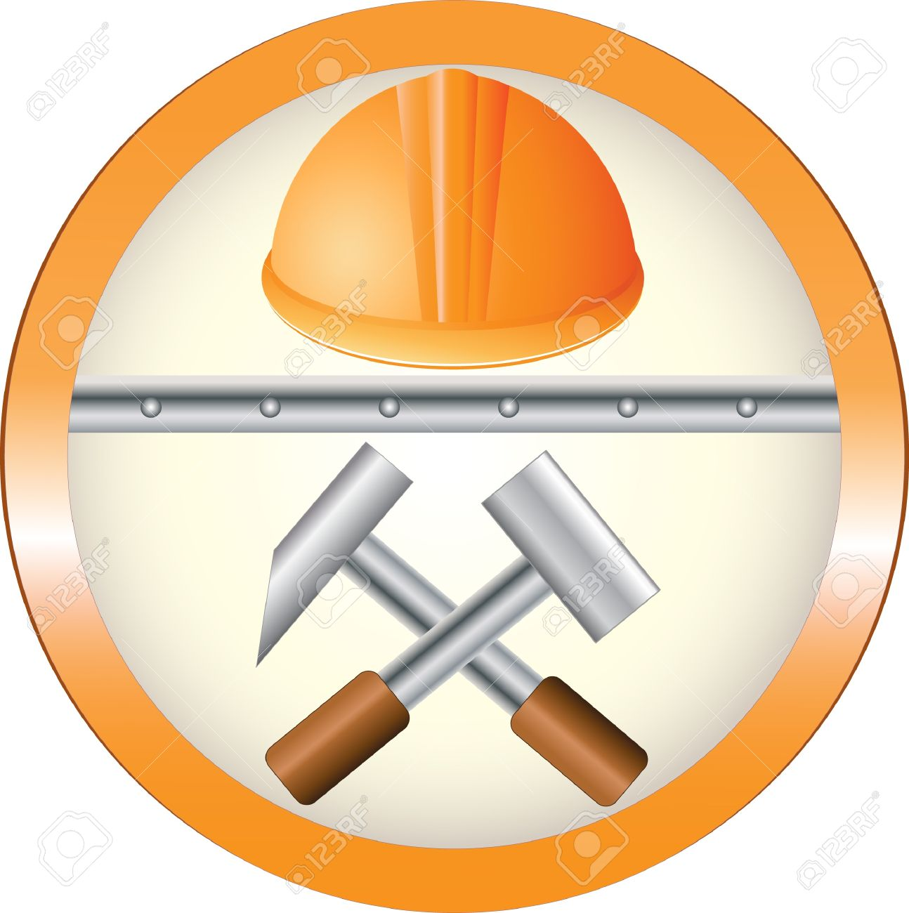 The red round symbol of construction equipment royalty free the red round symbol of construction equipment buycottarizona Image collections