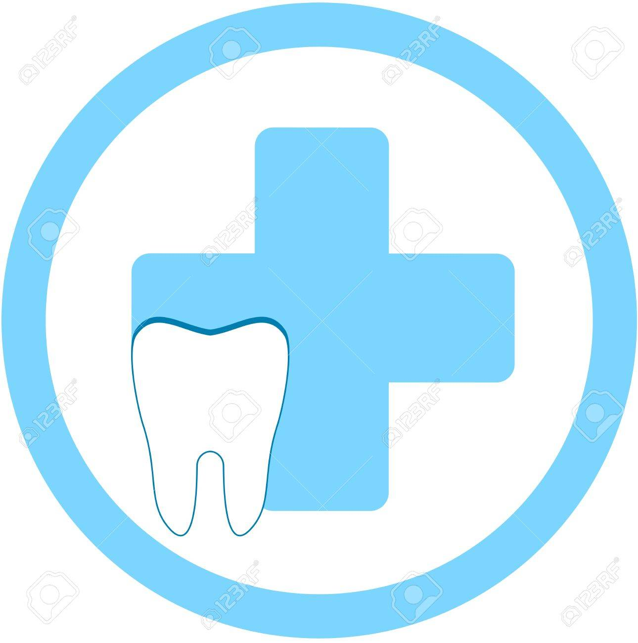 Dentist Medical Symbol Medical Symbol And Tooth