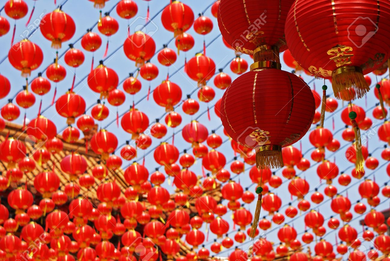 Chinese New Year Decorations Stock Photo   4077459
