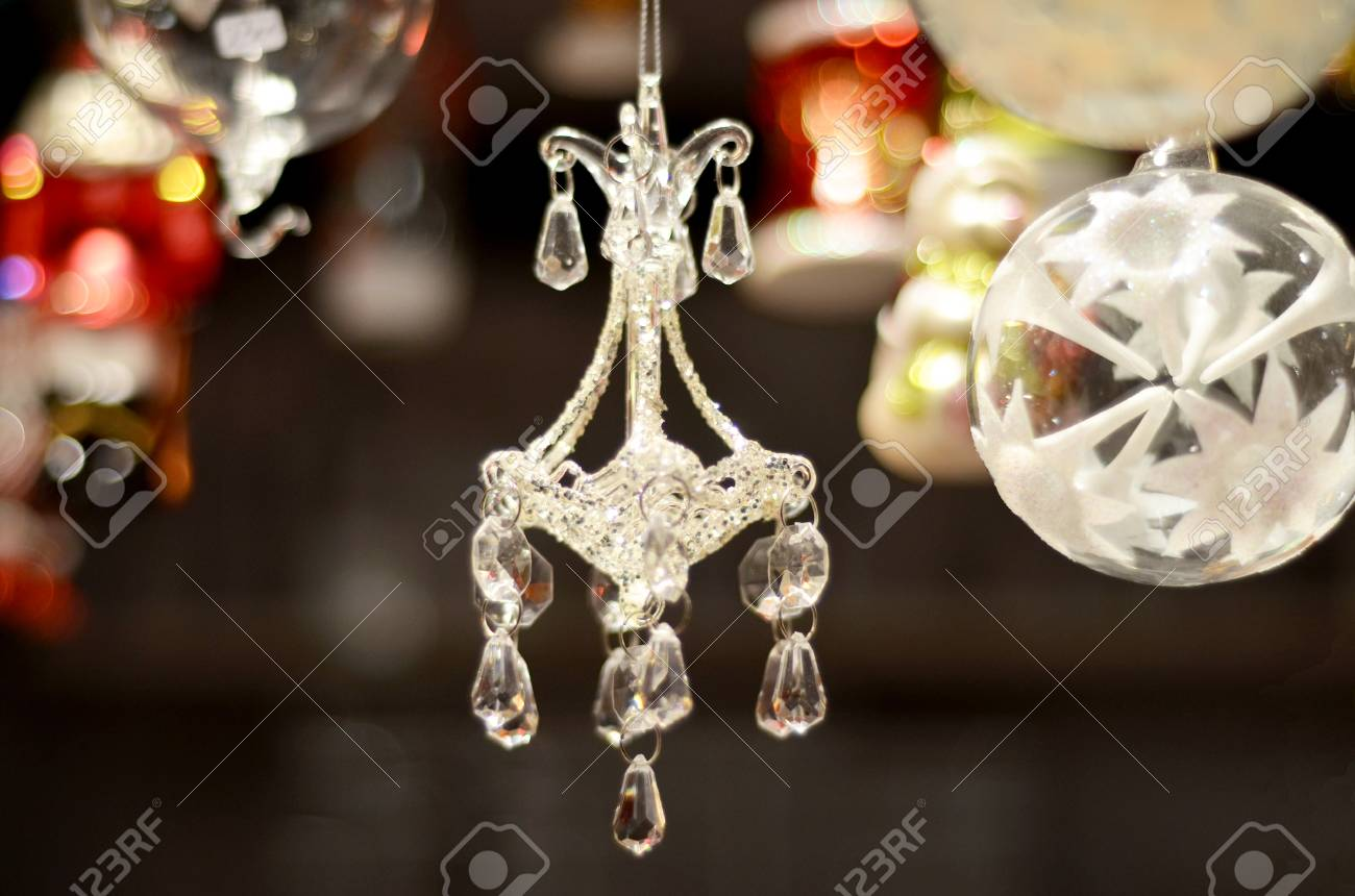 Chandelier christmas tree decoration stock photo picture and chandelier christmas tree decoration stock photo 98471160 aloadofball Image collections