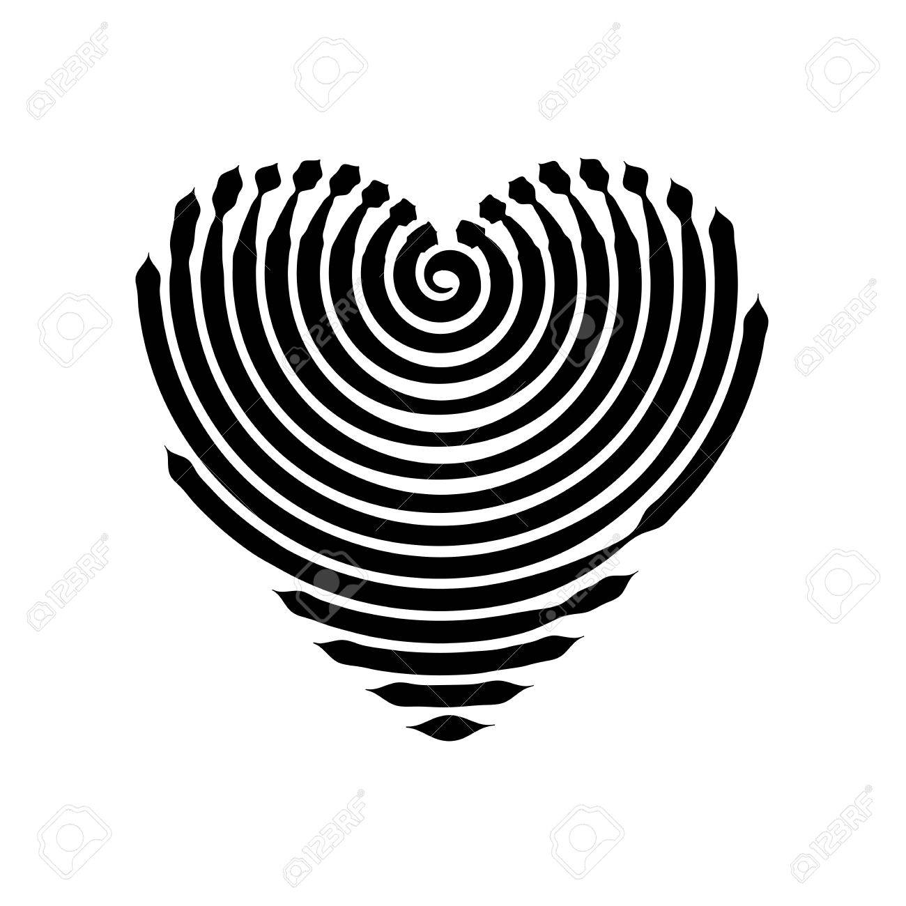 Vector heart graphic symbol heart graphics love and peace graphic symbol heart graphics love and peace template a biocorpaavc