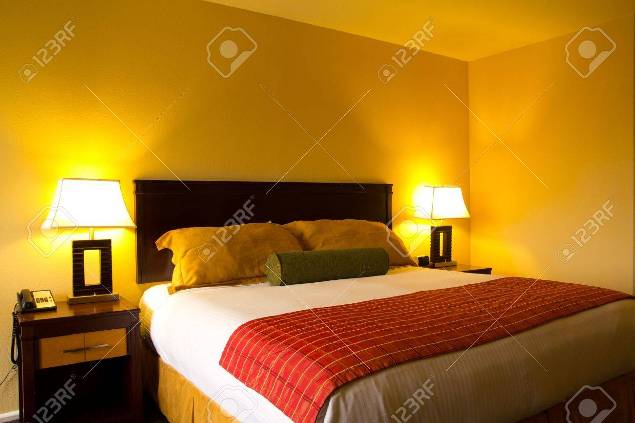 Interior of an classic romance bed room Stock Photo - 13387521