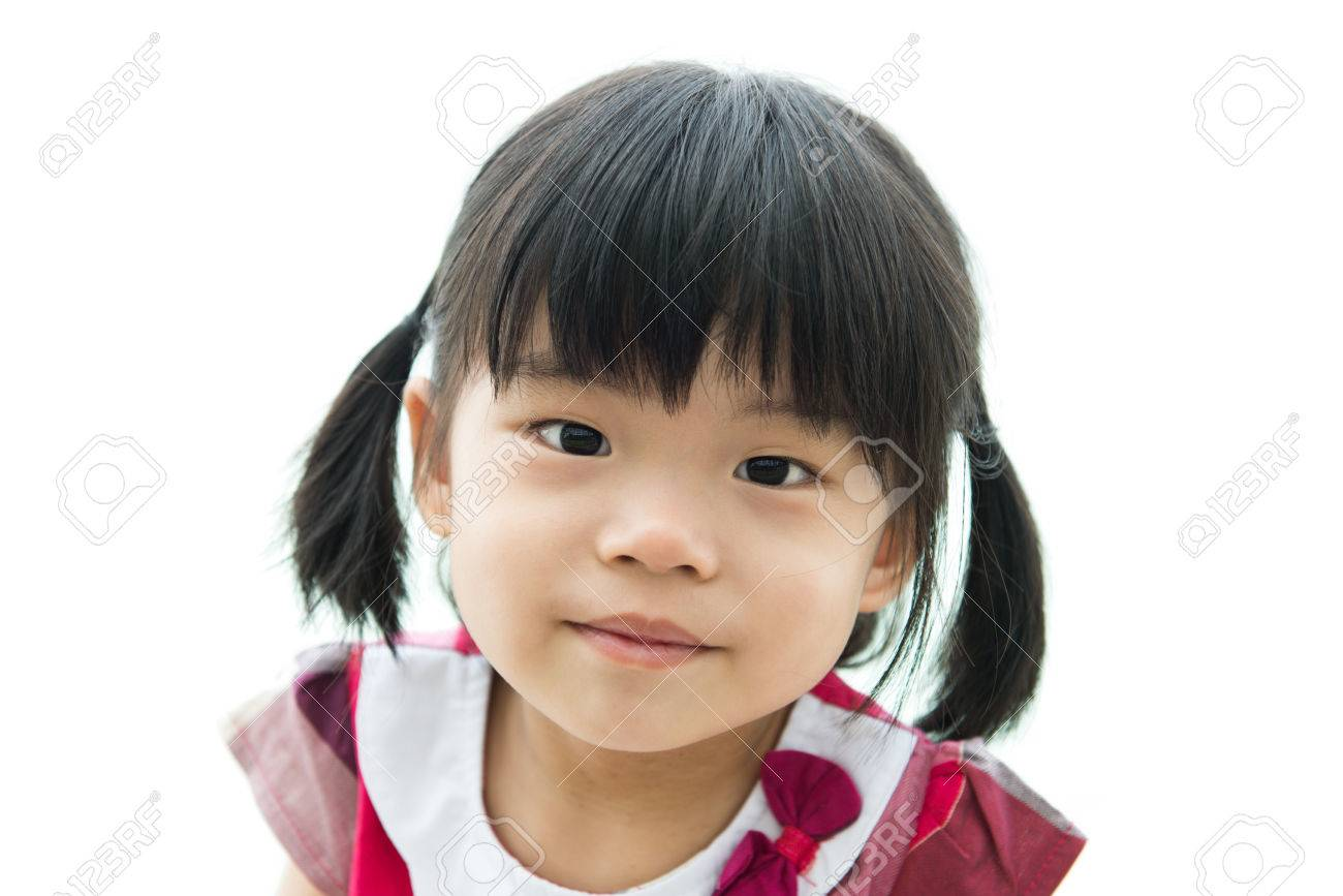 Girl little asian Filipino Woman