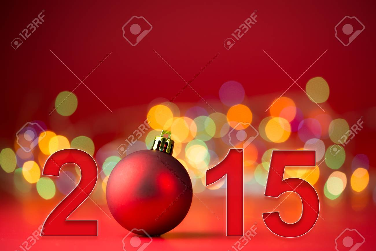 christmas and 2015 new year theme background stock photo 33866350