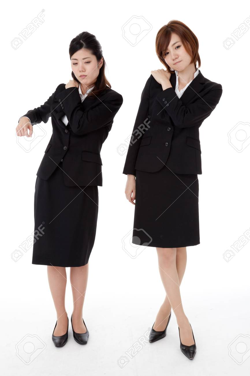 This is a photo of two young business people. Stock Photo - 16308038