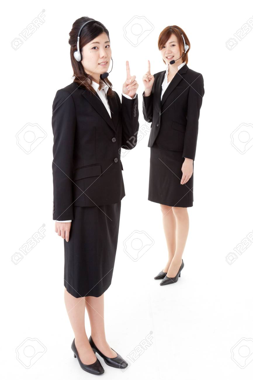 This is a photo of two young business people. Stock Photo - 16521312