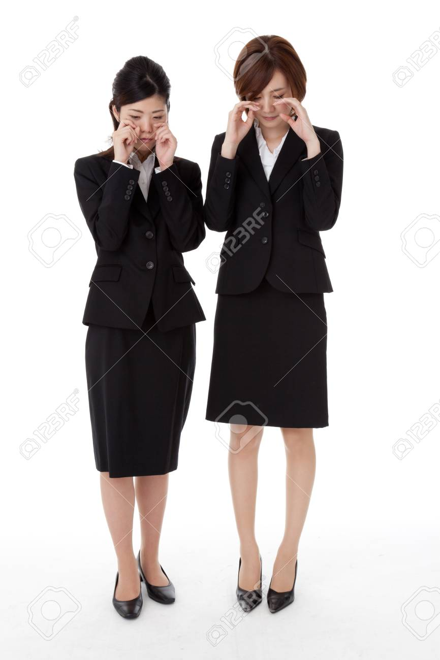 This is a photo of two young business people. Stock Photo - 16574137