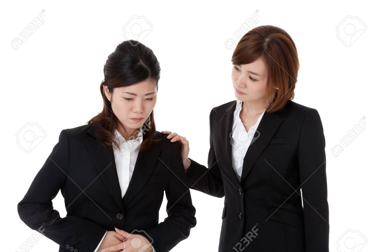 This is a photo of two young business people. Stock Photo - 16633868