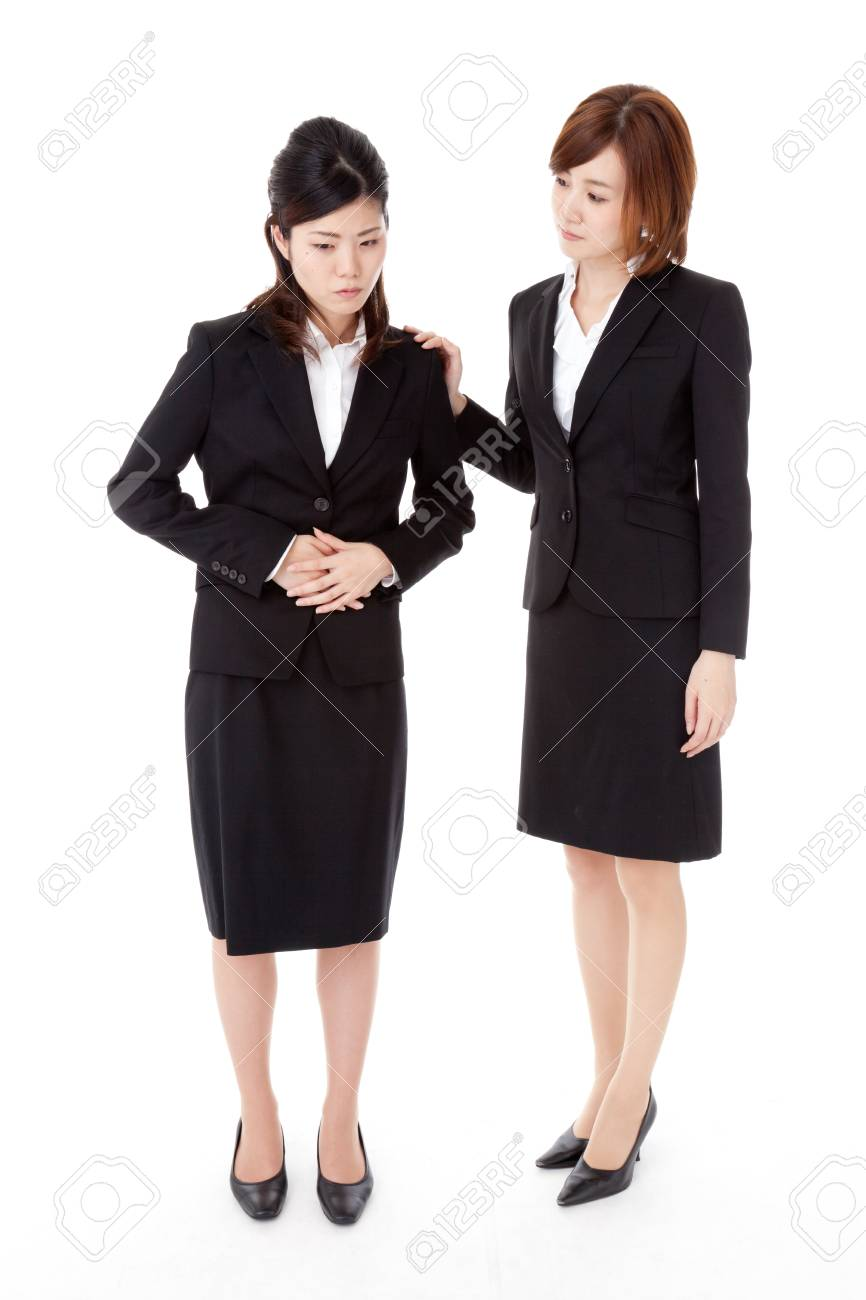 This is a photo of two young business people. Stock Photo - 16660673