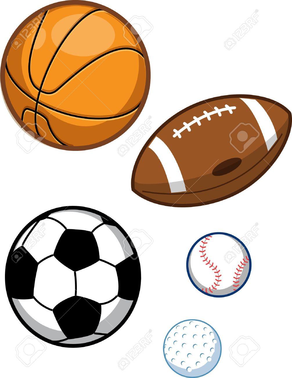 d82a9a155eb1e Foto de archivo - Surtido de bolas de los deportes