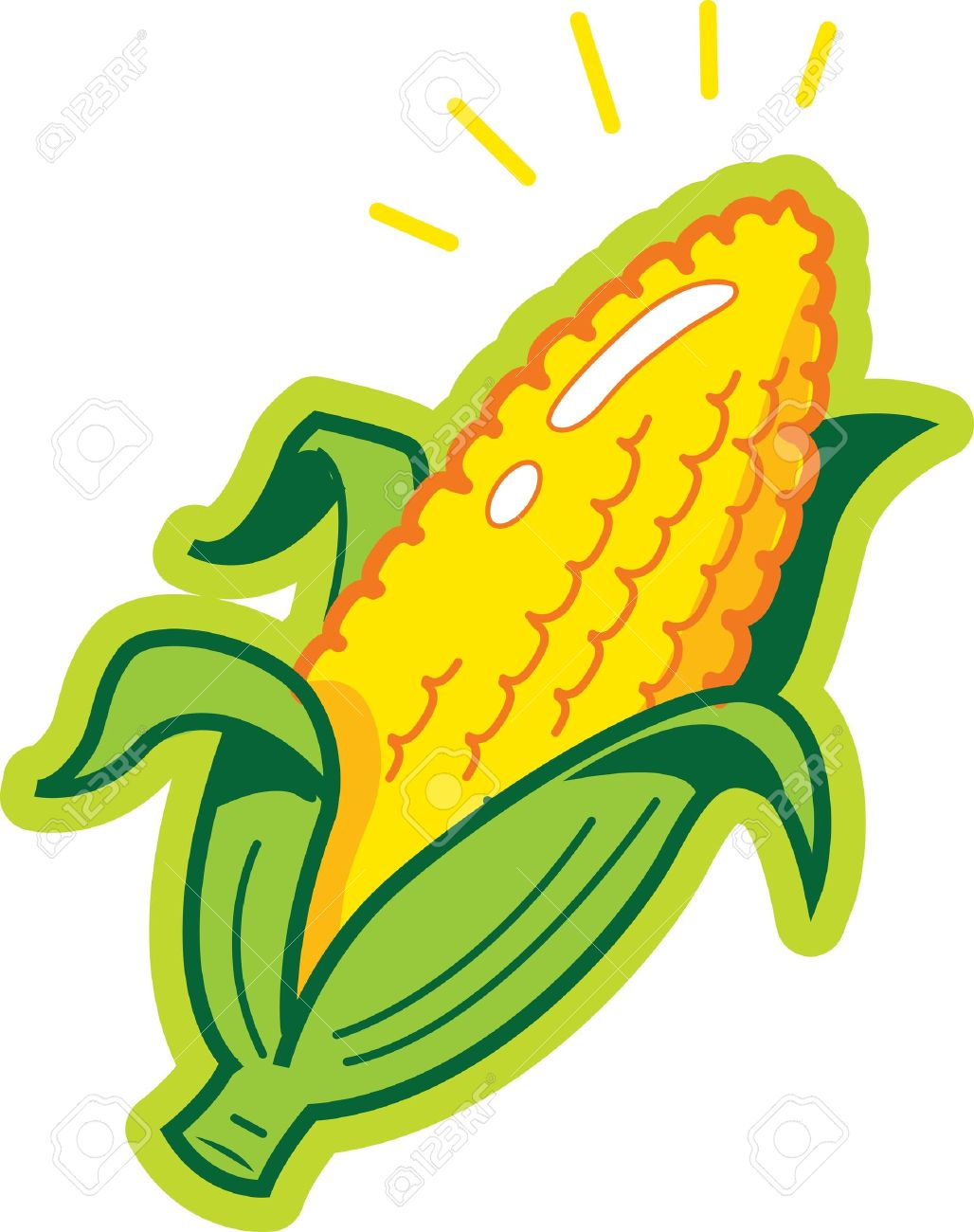 ear of corn royalty free cliparts vectors and stock illustration rh 123rf com