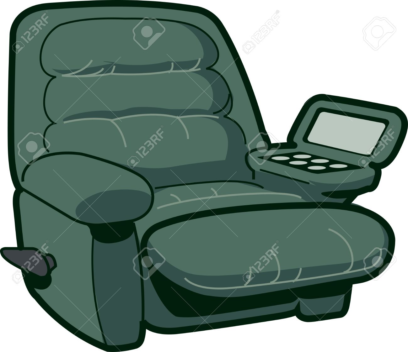 Reclining Chair Illustration Stock Vector - 20686791  sc 1 st  123RF Stock Photos & Reclining Chair Illustration Royalty Free Cliparts Vectors And ... islam-shia.org