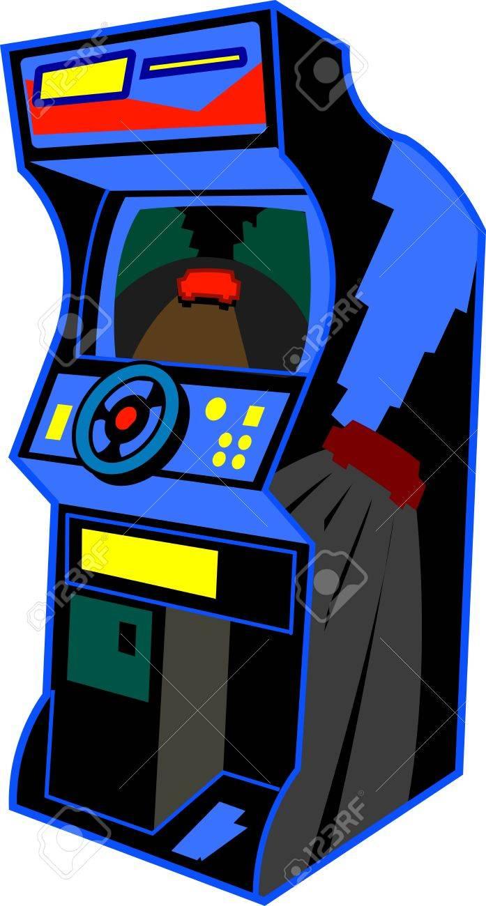 Clip art 187 board games clip art - Game Over Retro Arcade Video Game Illustration Illustration