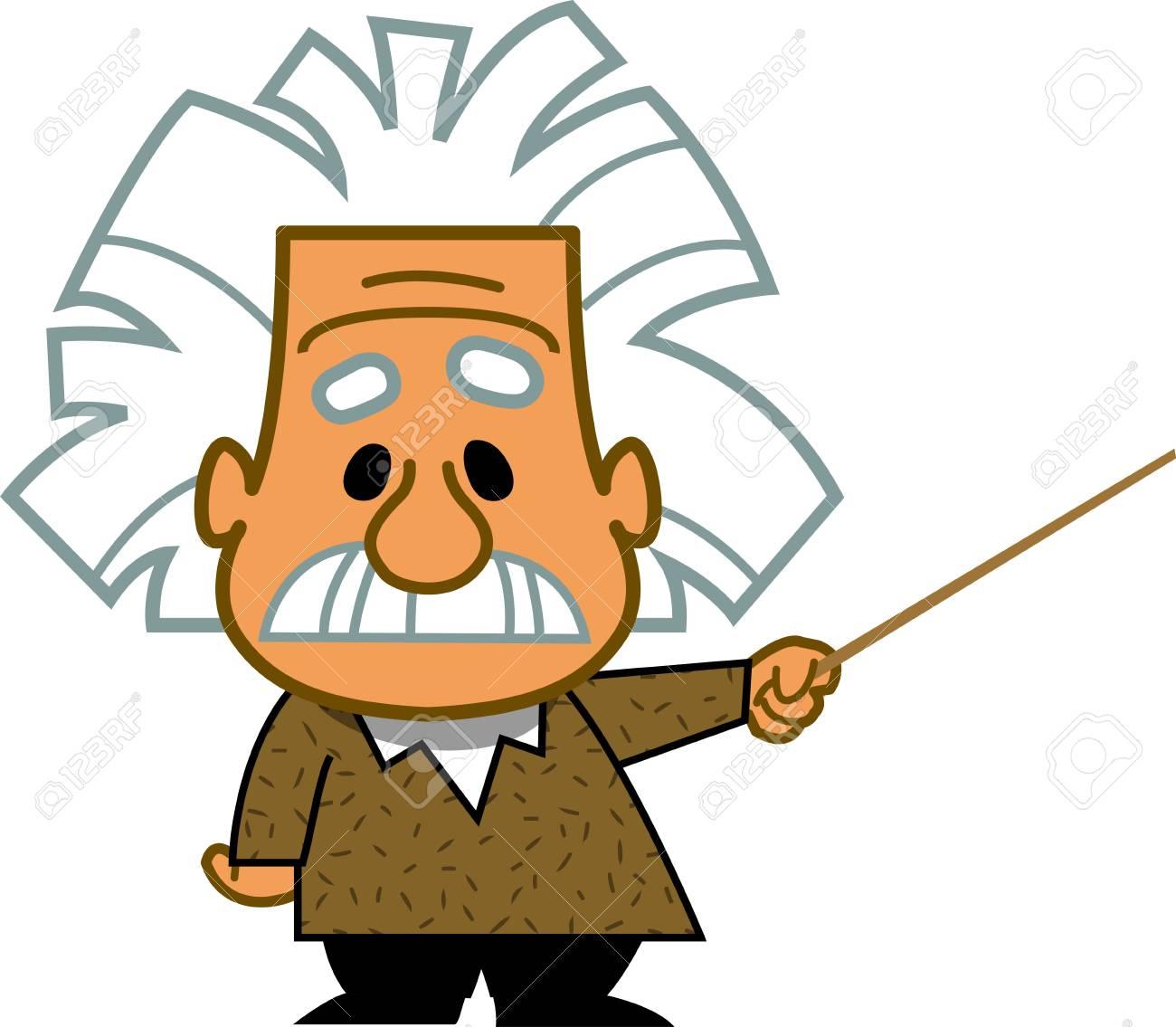 Smart Enseignant Professeur Genie Scientifique Mathematicien Dessin Anime Clipart Vecteur Clip Art Libres De Droits Vecteurs Et Illustration Image 92683868