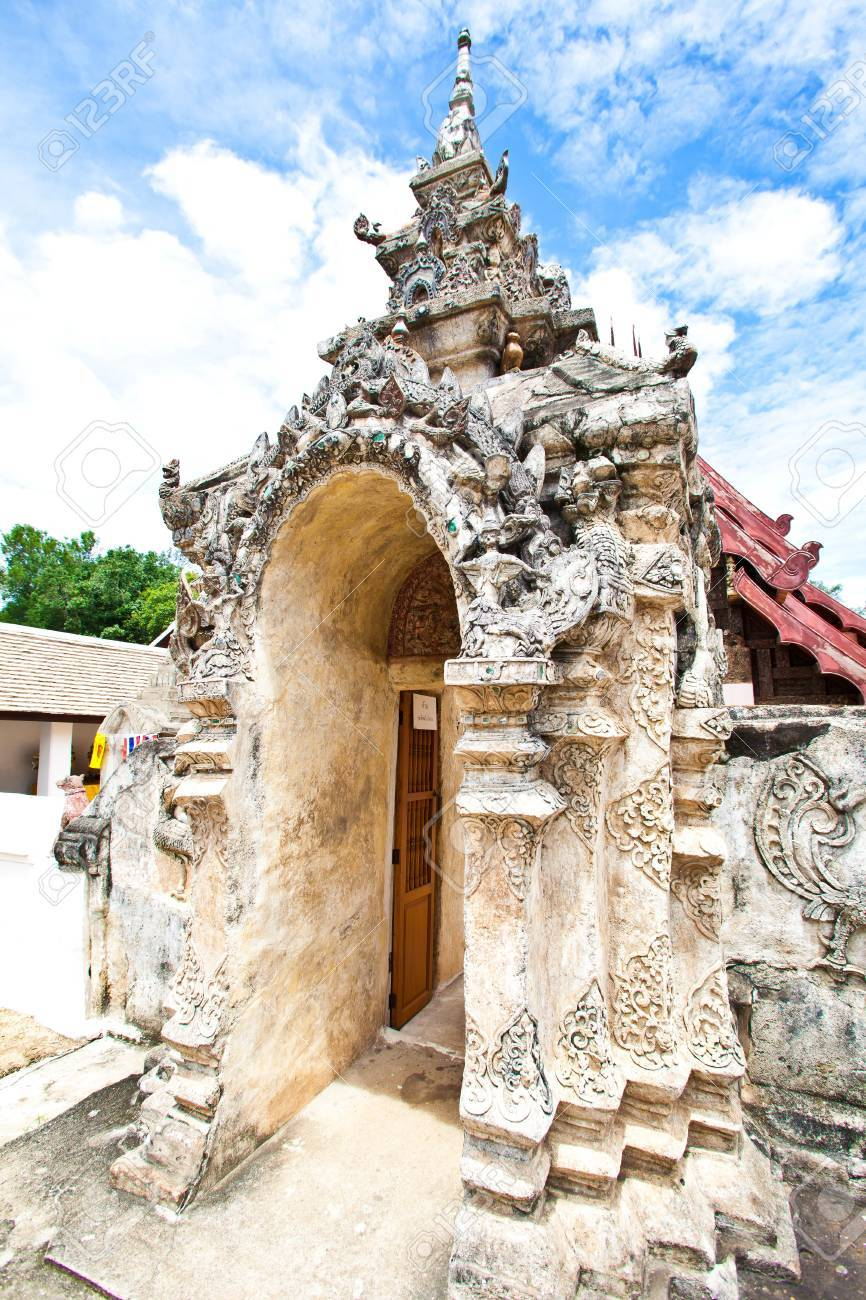 Wat Lai Hin of Lumpang Stock Photo - 11234932