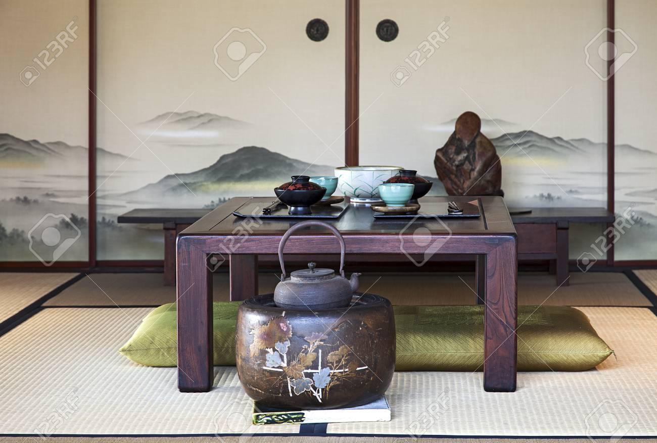 Traditionnelle Japonaise Salle A Manger