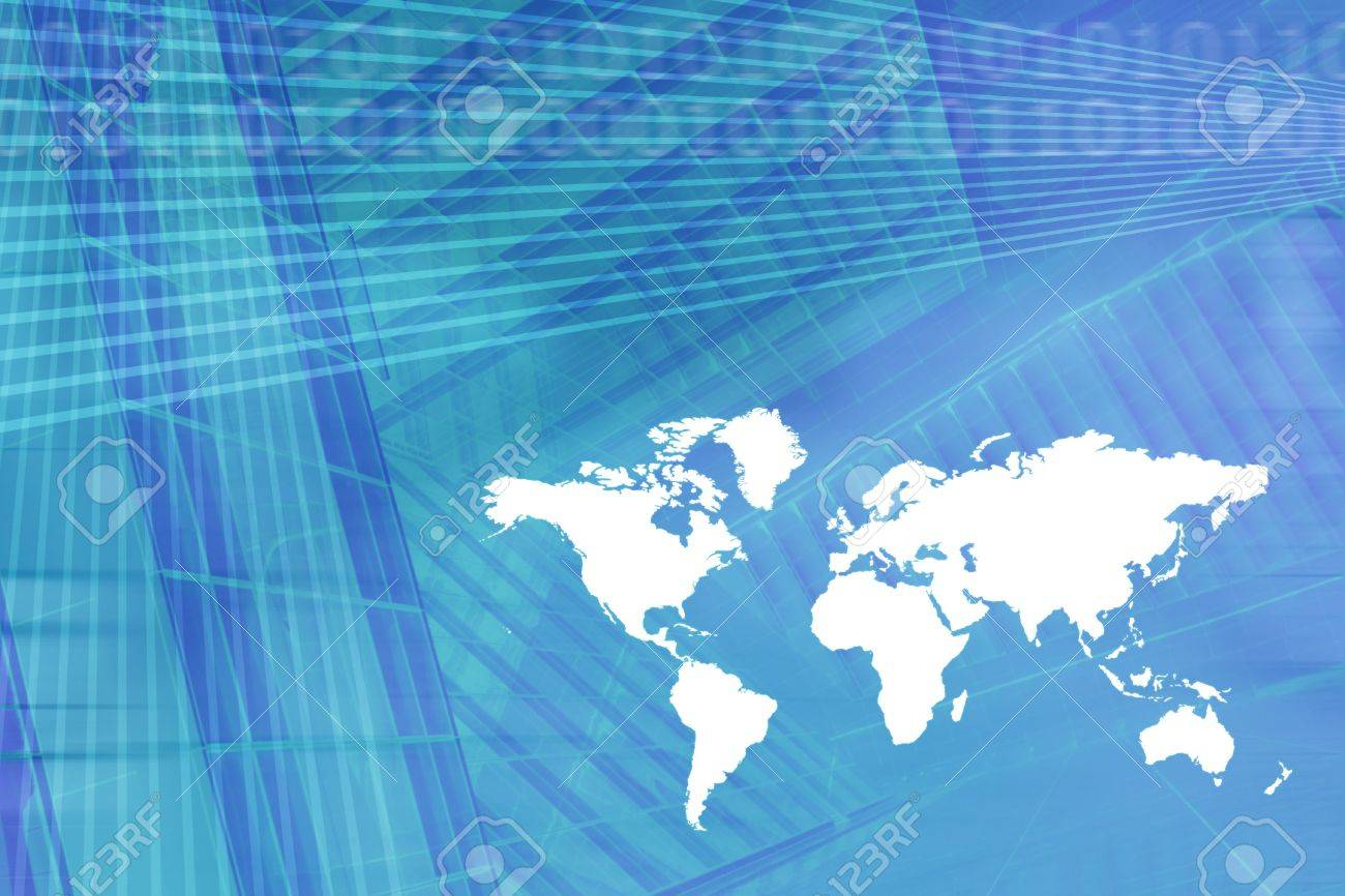 World map digital economy background in light blue stock photo stock photo world map digital economy background in light blue gumiabroncs Gallery