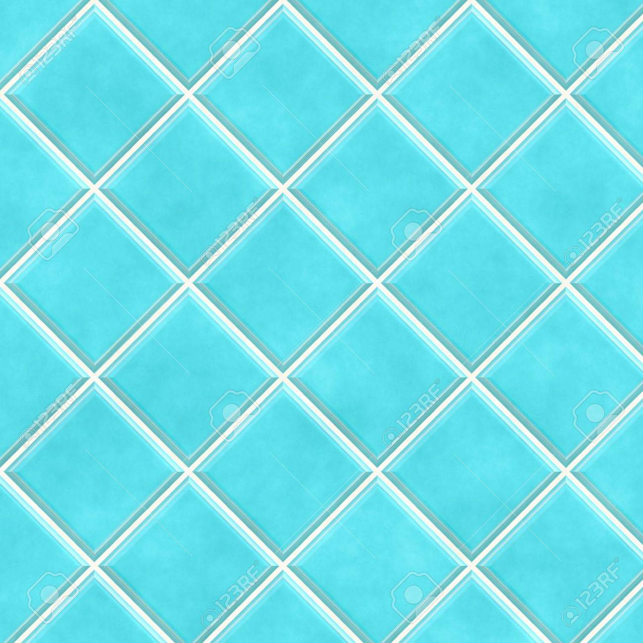 Bathroom Tiles Background blue bathroom tiles in abstract diagonal background stock photo
