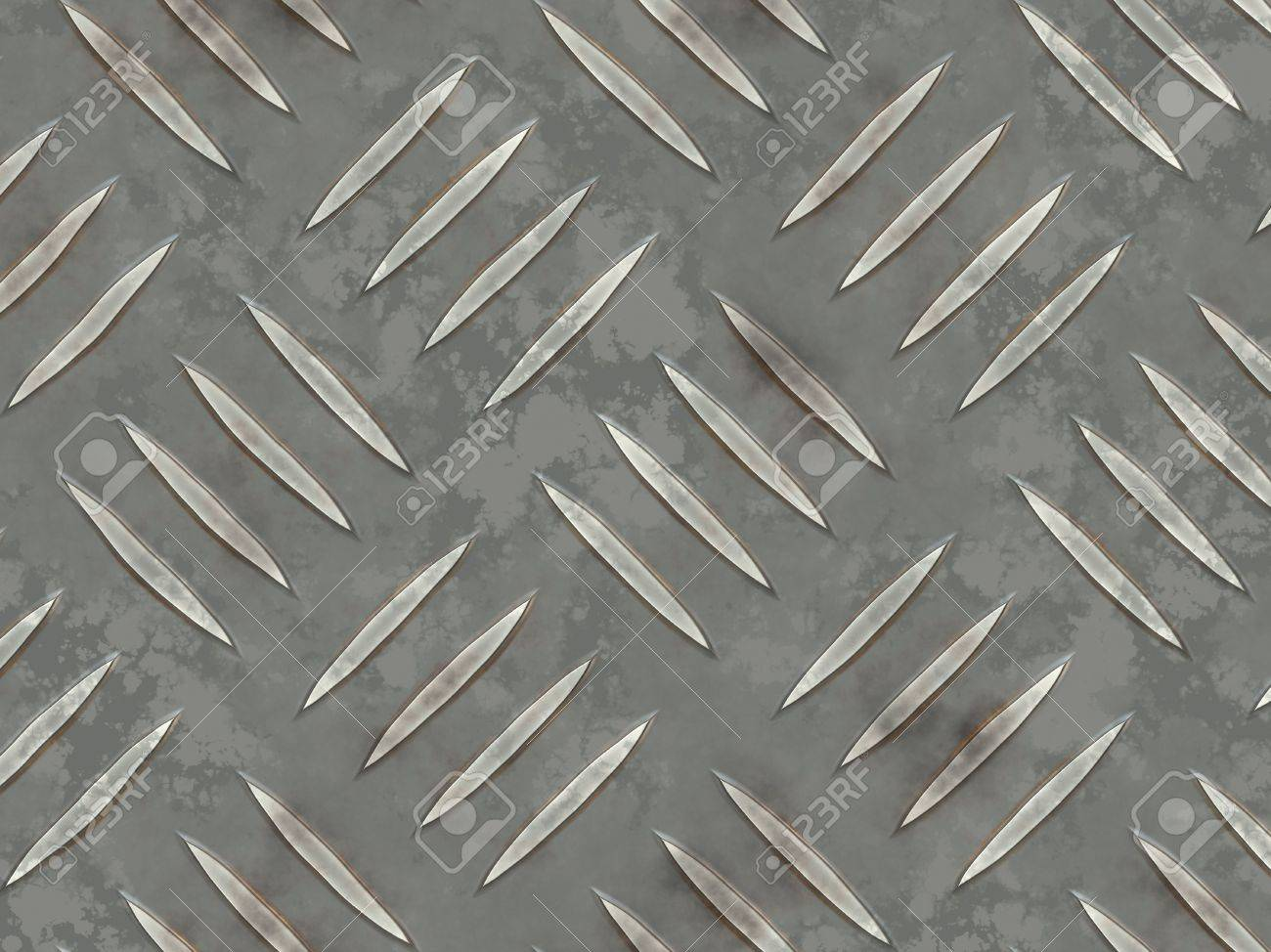 Grated Iron Flooring With Texture Abstract Background Stock Photo - Rubber grate flooring