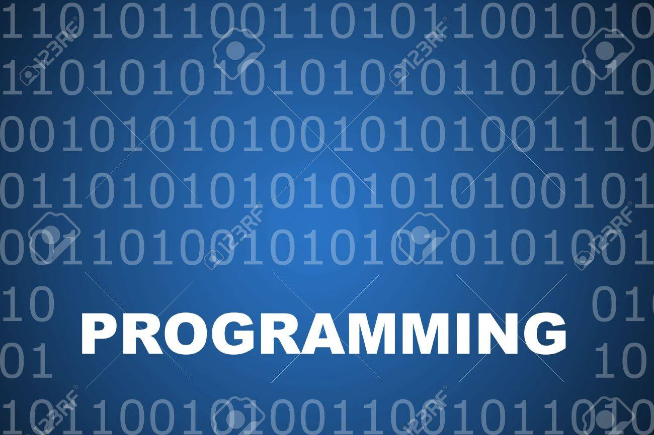 Programming School Course Series Class Abstract Background Stock Photo - 3723604