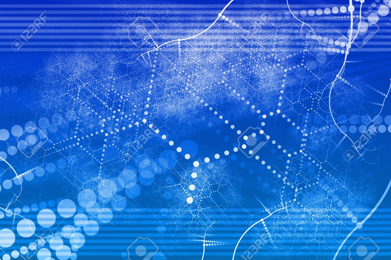 A Technology Industrial Network Abstract Background Wallpaper Stock Photo