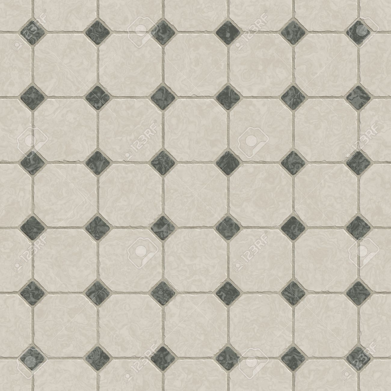 A Marble Kitchen Floor Tiles Abstract Background