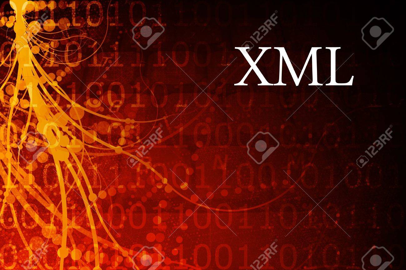 Background image xml - Xml Abstract Background In Red And Black Stock Photo 3983978