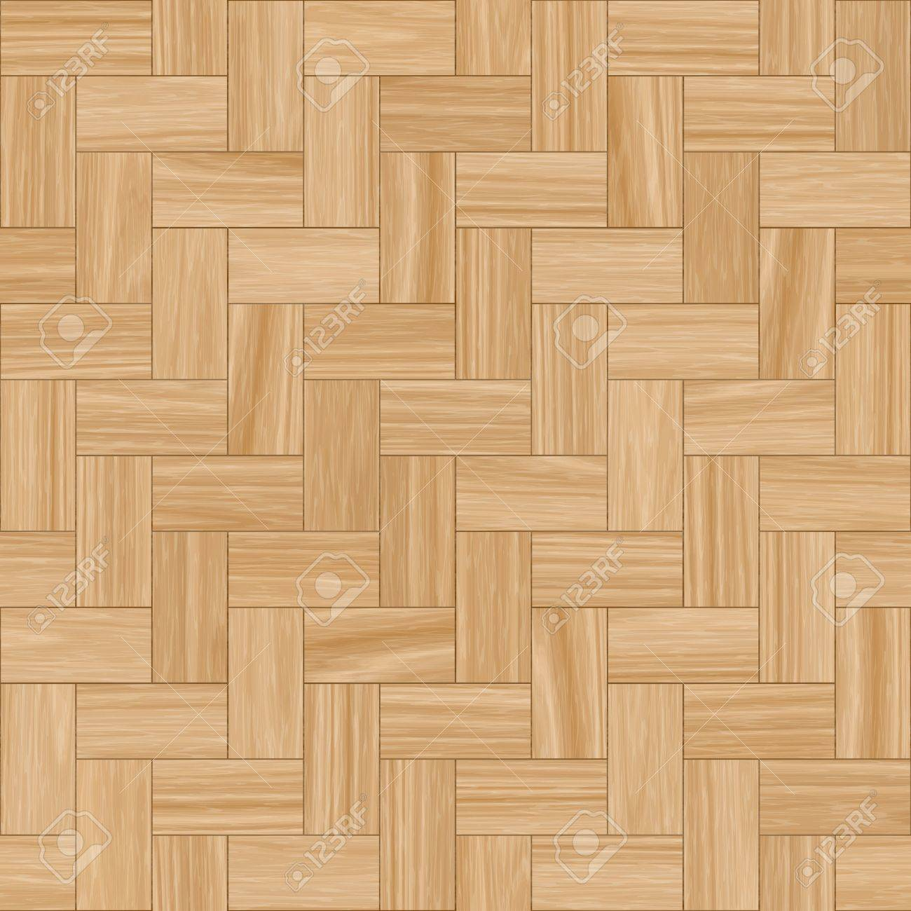 Smooth Wood Parquet Clean Floor Tiles Background Stock Photo