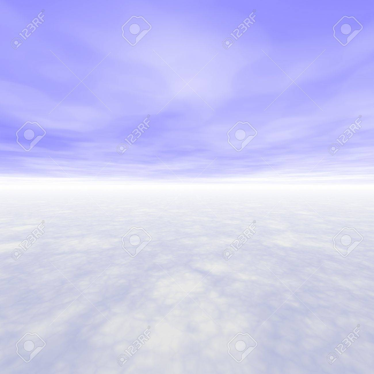 No Boundaries Scenery With Light Blue Skies Stock Photo - 4457749