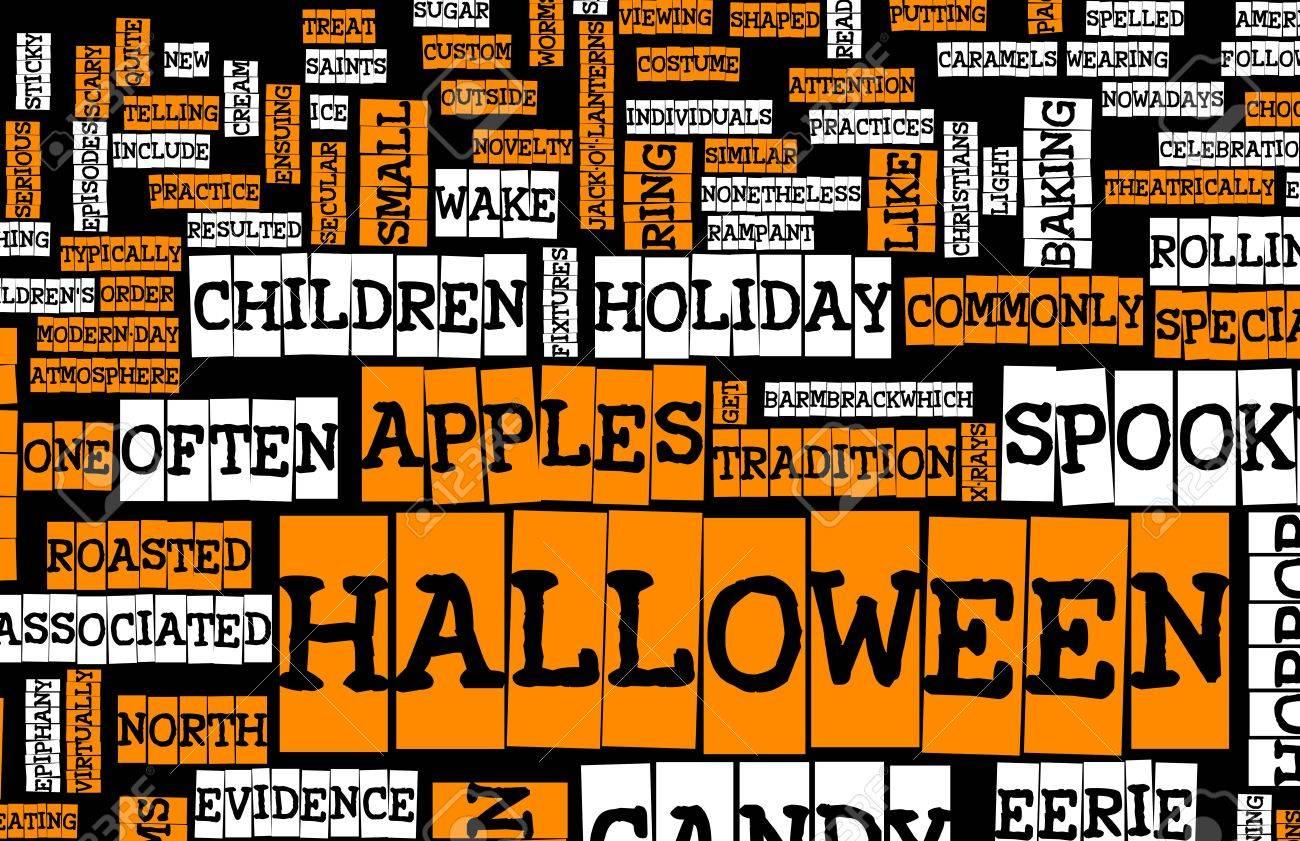 halloween art background black orange and white stock photo 5612164 - Black And Orange Halloween