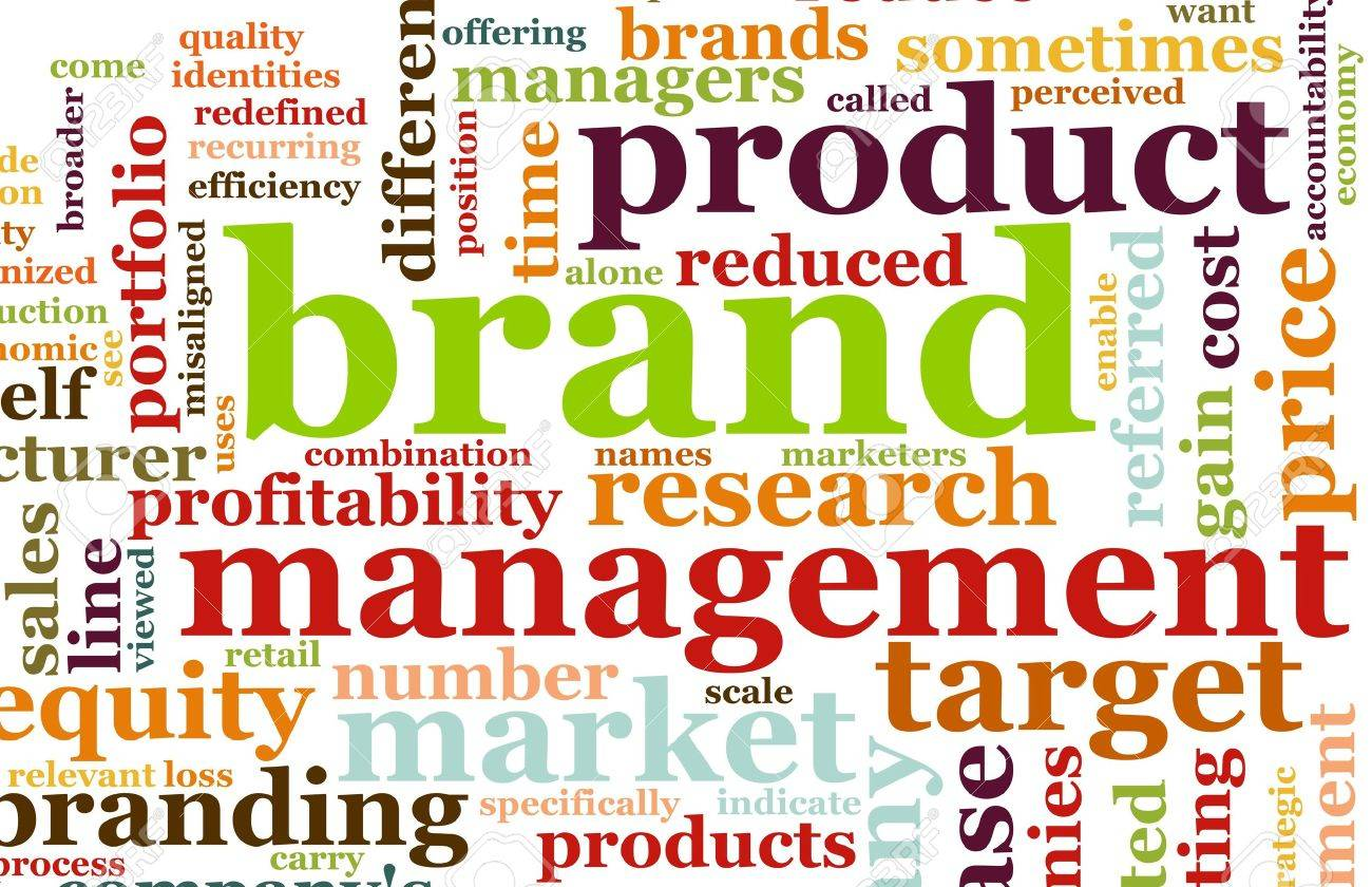 Branding of Market Product Word Cloud Background Stock Photo - 5761599