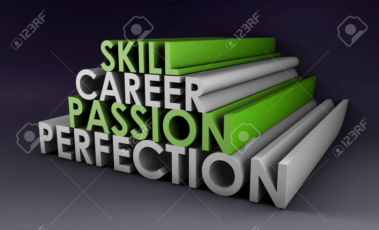 business skills for passion and career in d stock photo picture business skills for passion and career in 3d stock photo 5890049