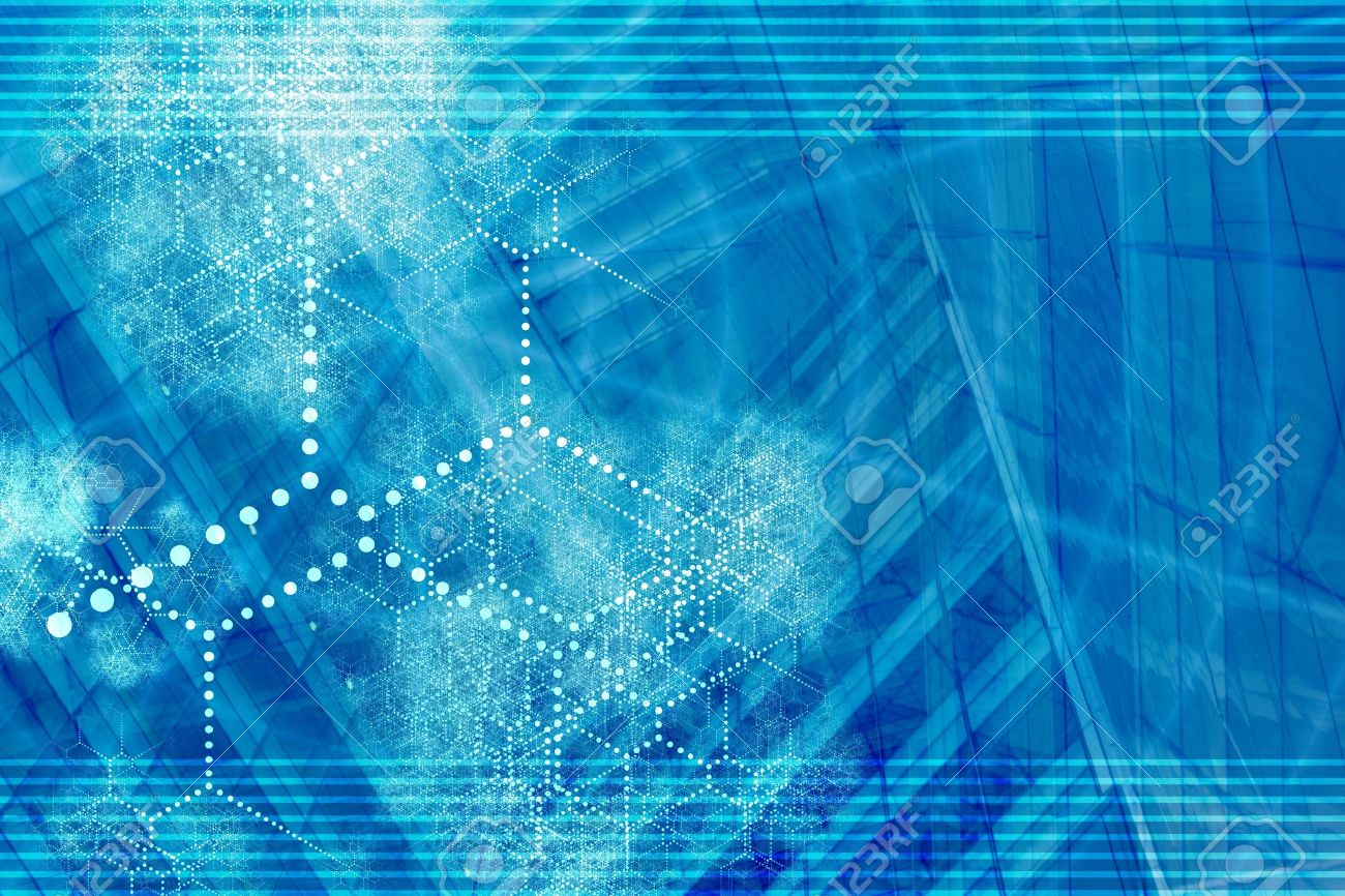 blue technology internet connected background abstract wallpaper