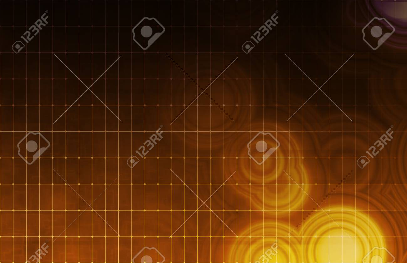 Tech Digital Data Transfer Network as Abstract Stock Photo - 6138204