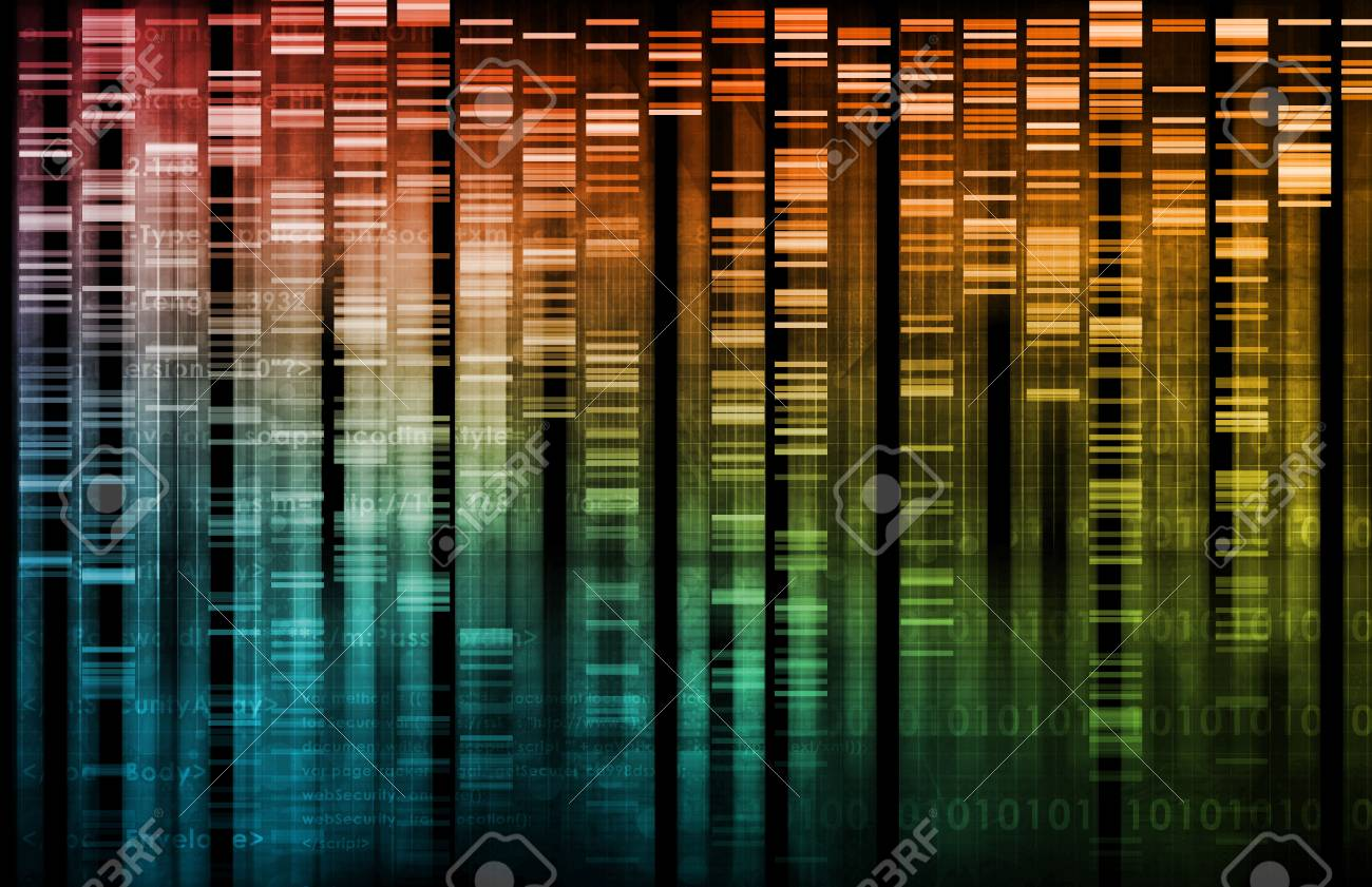 Medical Research and Corporate Technology As Art Stock Photo - 6362364