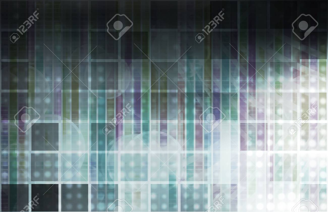 Research and Development of New Technology As Art Stock Photo - 6503556