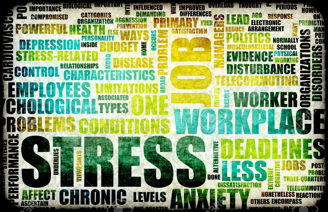 Work Stress in the Workplace as Concept Stock Photo - 6521559