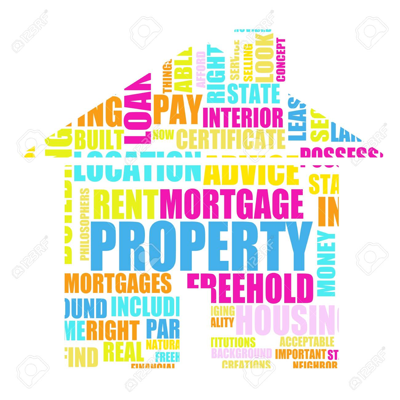 Property Real Estate Concept as a Abstract Stock Photo - 6544674