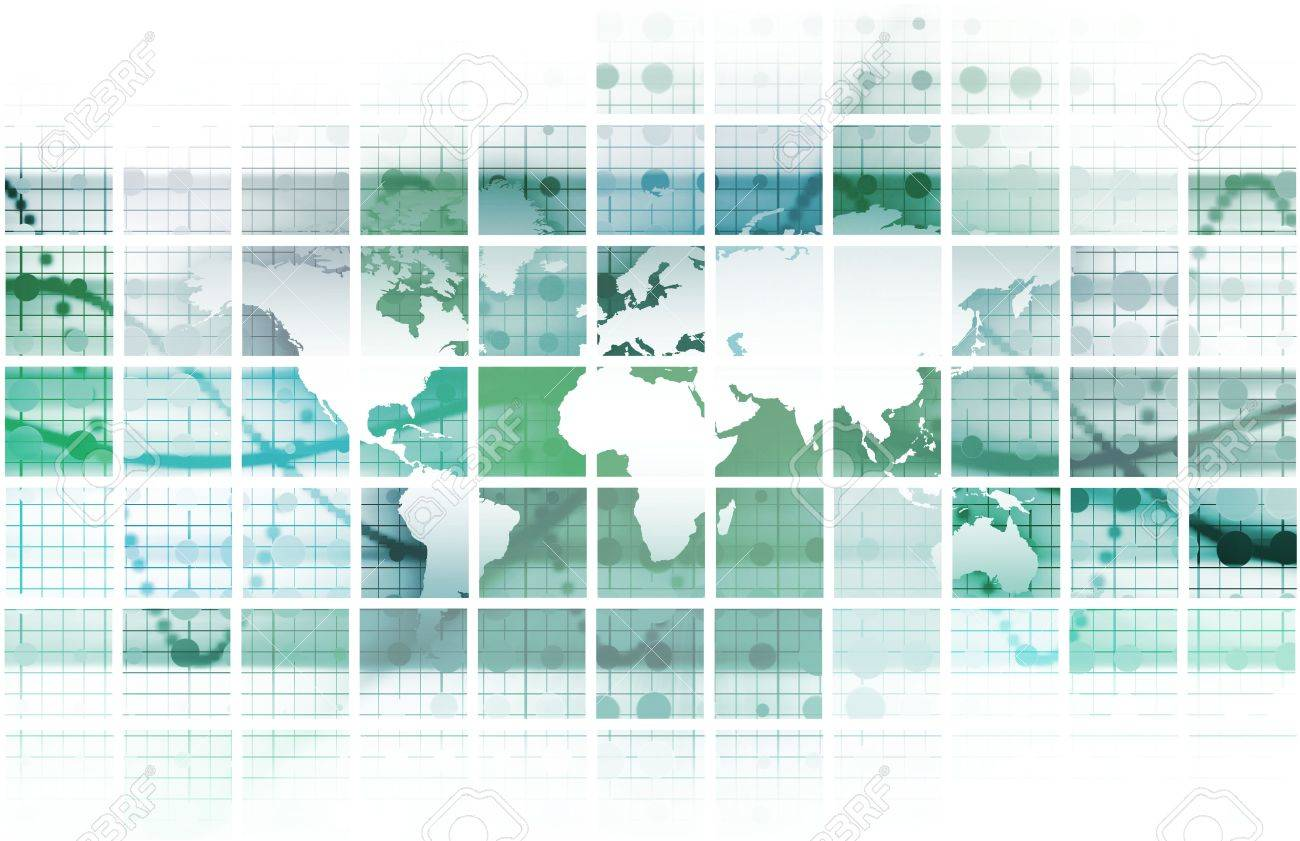 Global Conference World as a Abstract Background Stock Photo - 6544681