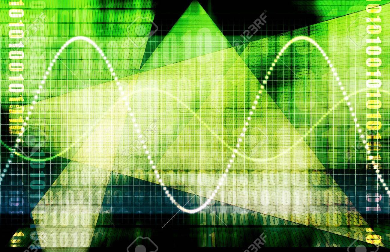 Telecommunications Industry Global Network as Art Stock Photo - 6622253