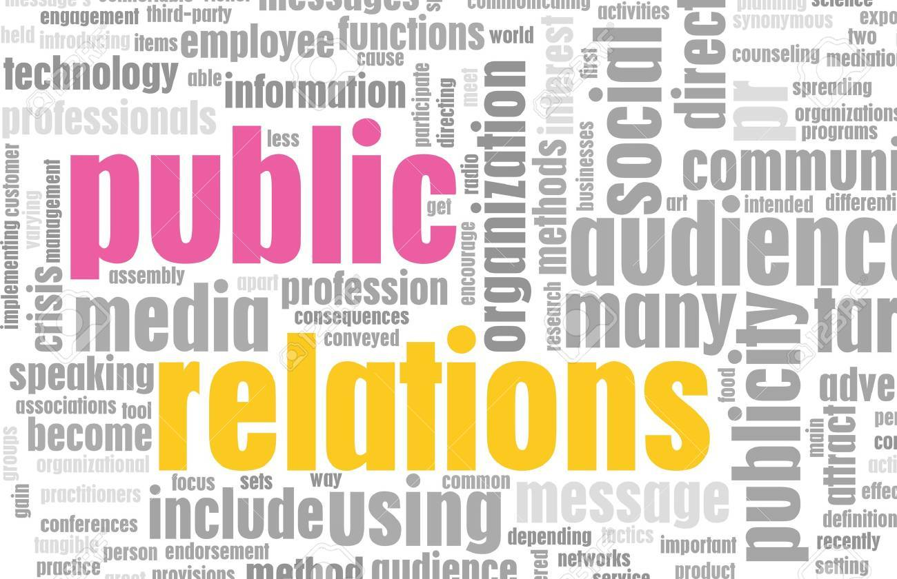 Public Relations PR Concept as a Abstract Stock Photo - 6664079